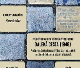 Projekce unikátního snímku Alfréda Radoka z roku 1949. Proč první československý film o holokaustu skončil v trezoru? Po promítání následuje debata s historikem Kamilem Činátlem (ÚSTR).