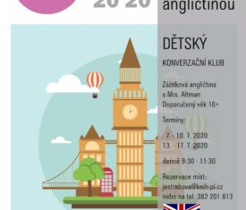 Zážitková angličtina v knihovně Kapacita omezena! Rezervace míst na jestrabova@knih-pi.cz nebo na 382 201 813