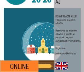 KONVERZAČNÍ KLUB V ANGLIČTINĚ S RODILÝM MLUVČÍM – ONLINE REGISTRACE: jestrabova@knih-pi.cz