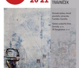 Vernisáž výstavy obrazů píseckého výtvarníka Františka Trávníčka. Foyer